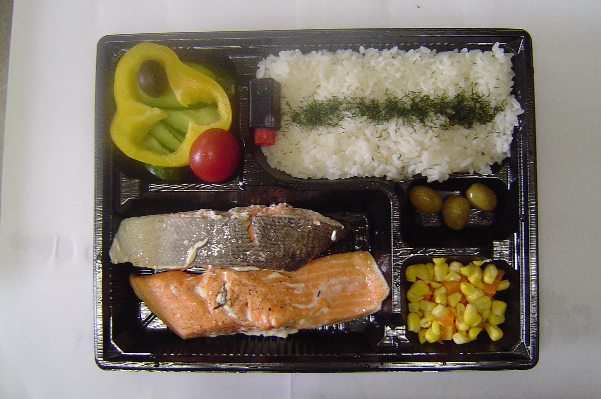Kosher Fish Lunchbox Tokyo Japan Chabad Tokyo Japan