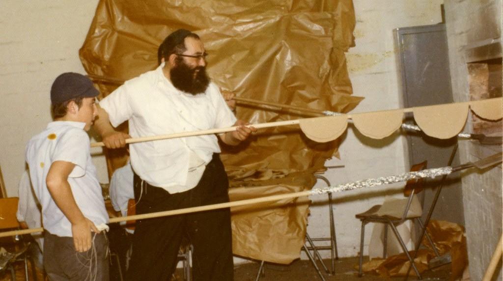 Matza Baking Rabbi Groner Melbourne Australia