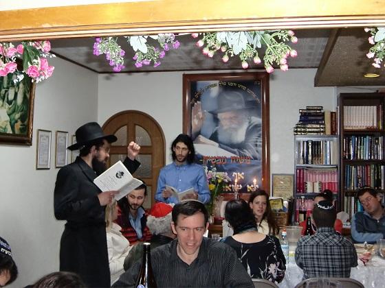 Sheva Brachot Wedding Finale At Chabad An